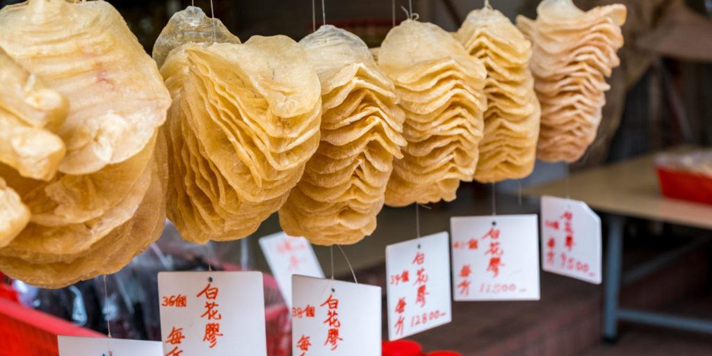 Buche de pescado en China